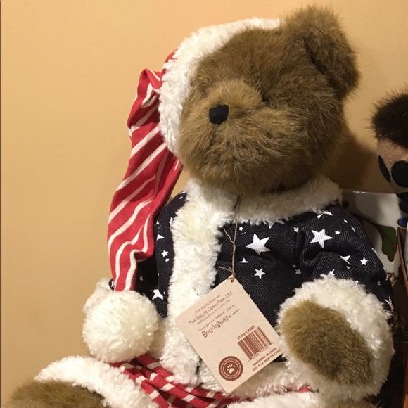 Teddy Bear 🧸 patriot stocking cap & jacket